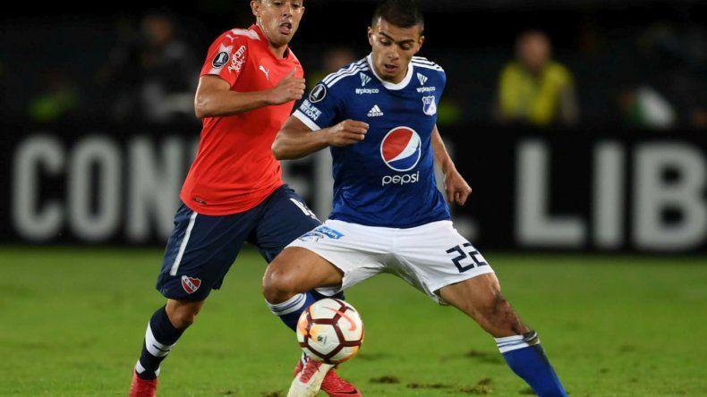 Independiente se llevó un empate ante Millonarios y sigue segundo en el Grupo G