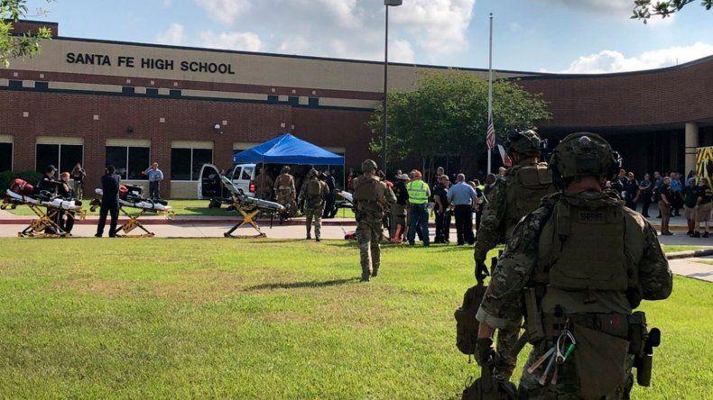 Tiroteo en una escuela de Texas: hay al menos ocho muertos