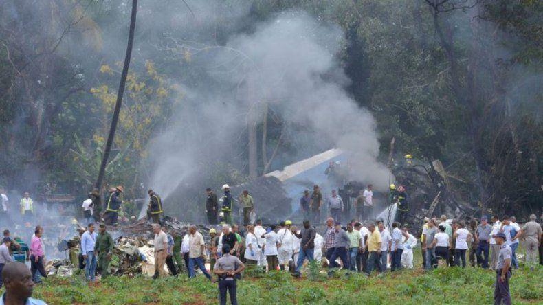 Se estrelló un avión en Cuba con 104 pasajeros