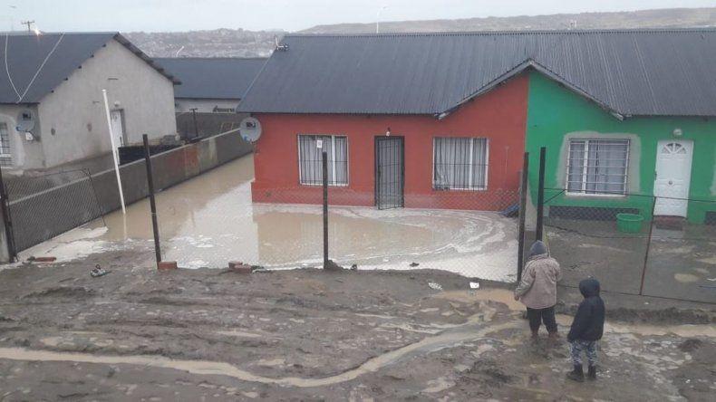 Declararon emergencia climática por 48 horas en Caleta