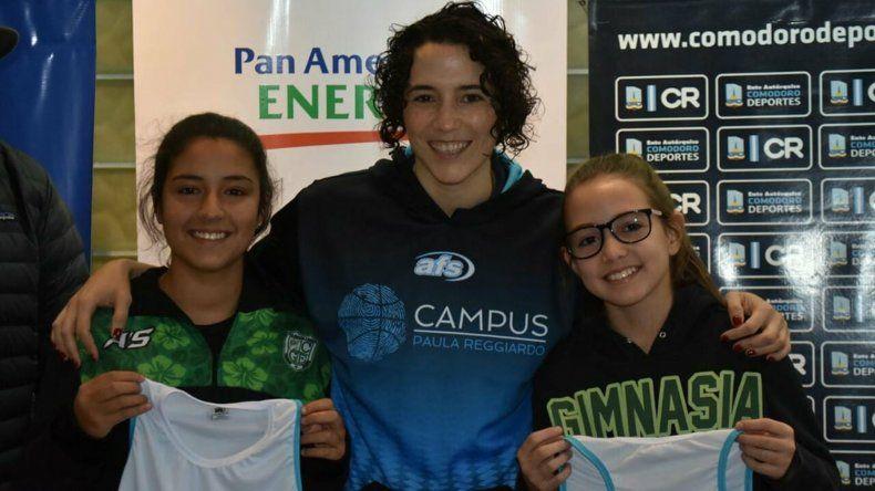 Comenzó el campus de básquet femenino de Paula Reggiardo
