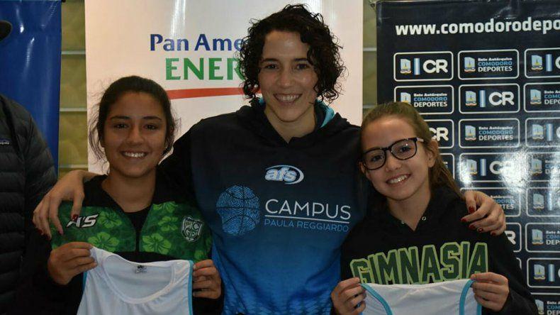 Paula Reggiardo llegó a Comodoro Rivadavia para brindar su experiencia.