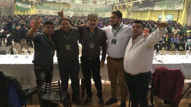 Jorge Taboada encabezó un acto político-sindical en Trelew
