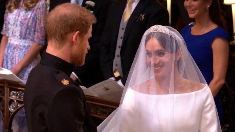 El príncipe Harry y Meghan Markle dieron el sí
