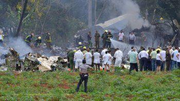 Dos argentinos murieron en el accidente aéreo en La Habana