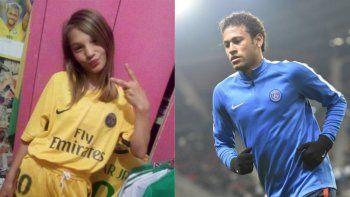 conmovedora carta de neymar a una nena victima de femicidio