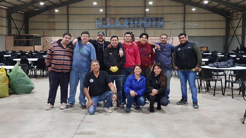 Petroleros Jerárquicos destacó la colaboración  que recibió para organizar su asamblea
