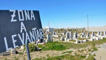 levantaran tumbas en  el cementerio oeste
