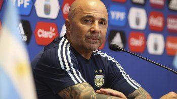 sampaoli anuncio a los 23 convocados de argentina