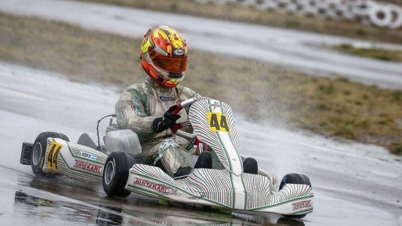 Martín Visser dominó de principio a fin la tercera prueba del año. El sábado fue el más rápido bajo el agua
