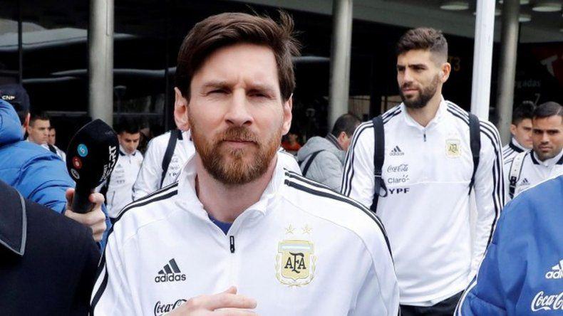 Messi entrenará por la tarde en el predio de Ezeiza