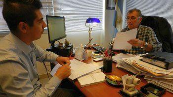 Los fiscales Daniel Báez y Jorge Bugueño.