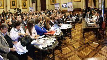 El plenario de comisiones le dio dictamen ayer al proyecto que presentó la oposición.