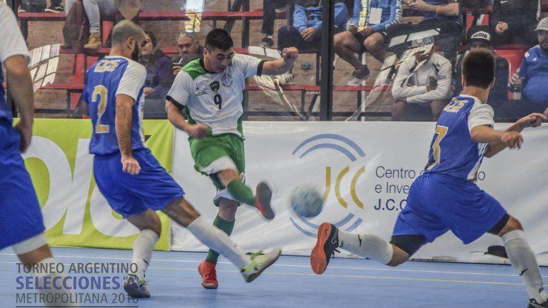 Comodoro Rivadavia pasó invicto la zona A de la fase clasificatoria del Torneo Argentino de Selecciones A.