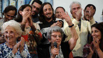 Nominan una vez más al Premio Nobel de la Paz a las Abuelas de Plaza de Mayo