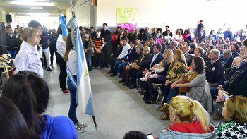 Con un acto, la Escuela 776 de Playa Unión fue nombrada como Emmanuel Puebla Pires.