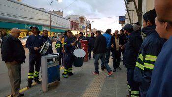 Foto y video: Vía whatsapp a El Patagónico.