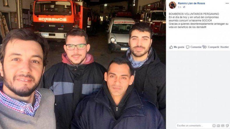 Cerró un destacamento de bomberos en Buenos Aires porque no pueden pagar la luz