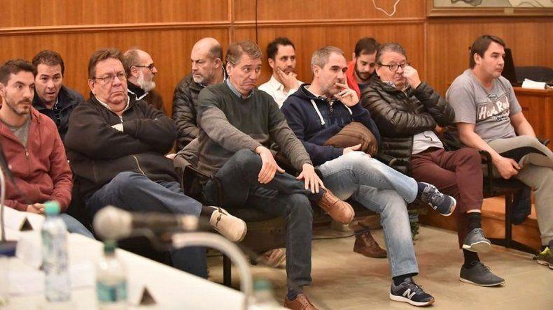 Cisterna, Oca, Correa y Carpintero: jefes de la organización