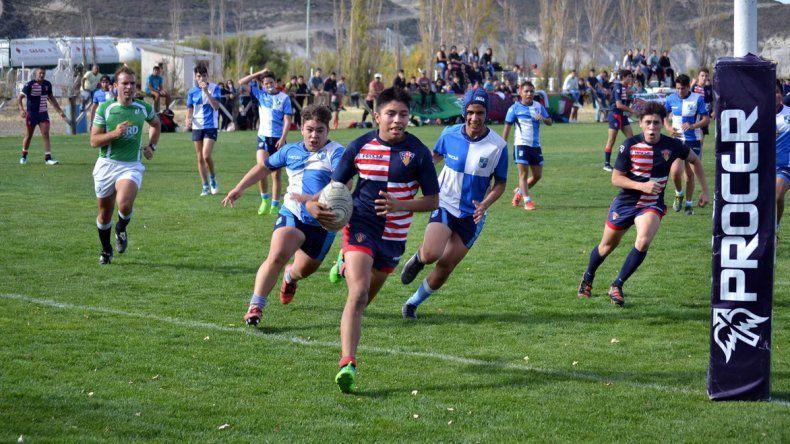 El rugby de la Unión Austral tendrá esta tarde acción únicamente en las categorías menores.