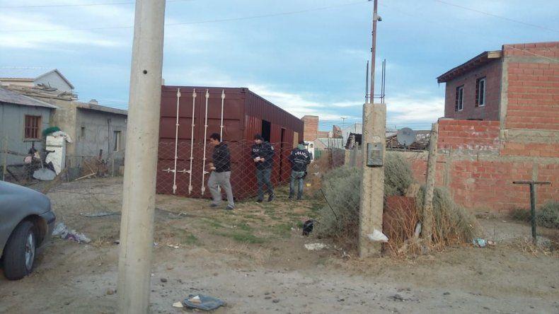 La Brigada recuperó  un contenedor robado