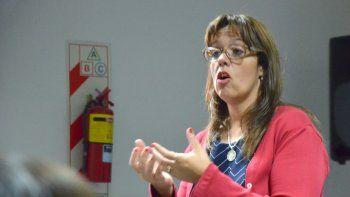 María Marta Nieto, jueza de Familia de Comodoro Rivadavia.
