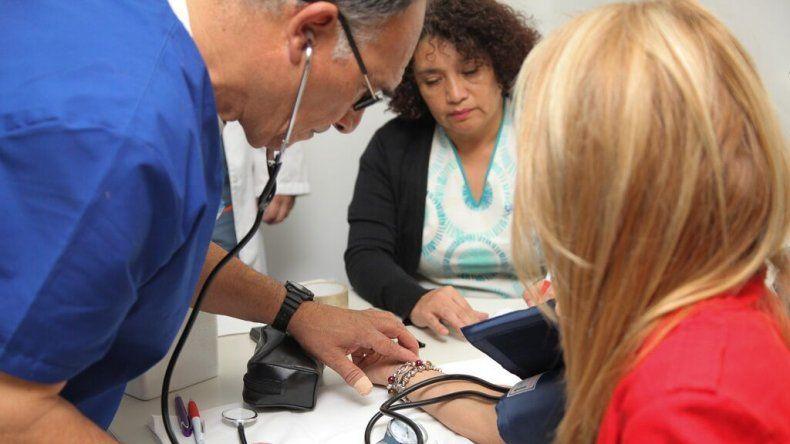 En Rada Tilly desarrollaron una jornada de concientización sobre hipertensión arterial