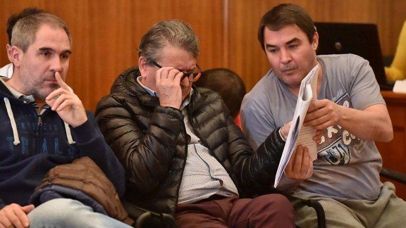 Seis meses de prisión para  Cisterna, Carpintero y Oca