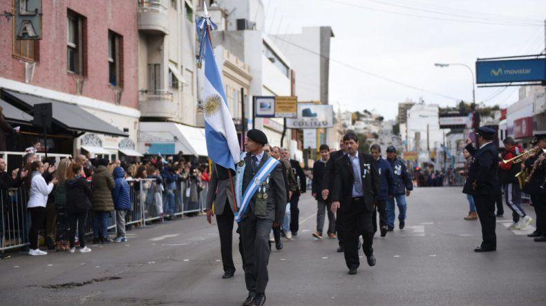 Comodoro celebró en  las calles el 25 de Mayo