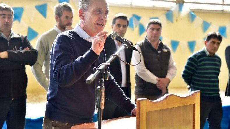 Arcioni: el paro no es la herramienta para sacar la provincia adelante