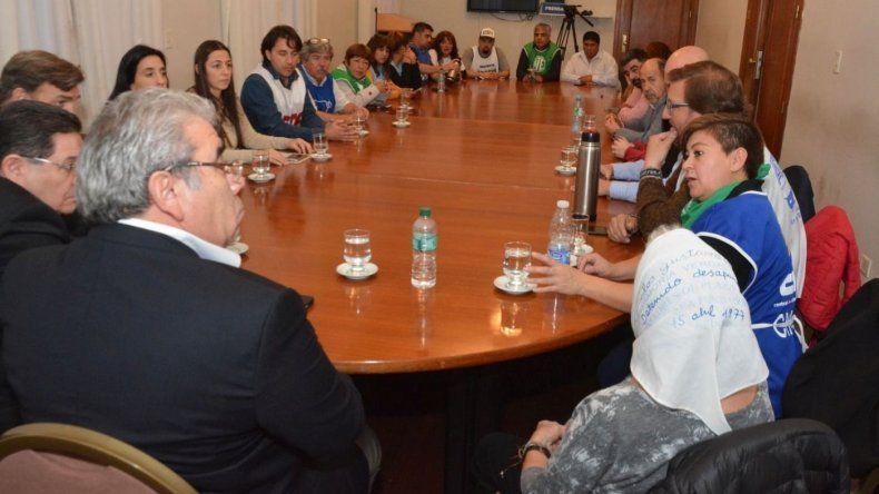 La Mesa de Unidad Sindical convocada para el martes en el marco de la conciliación