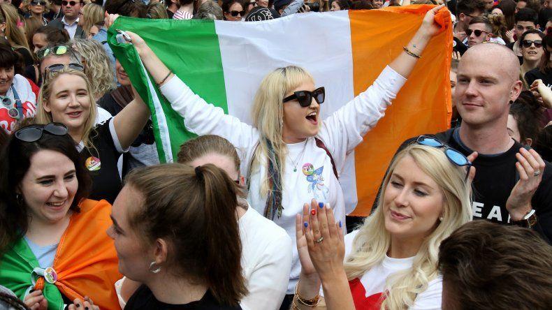 Seis de cada diez irlandeses que votaron en el referémdum se manifestaron a favor de despenalizar el aborto.