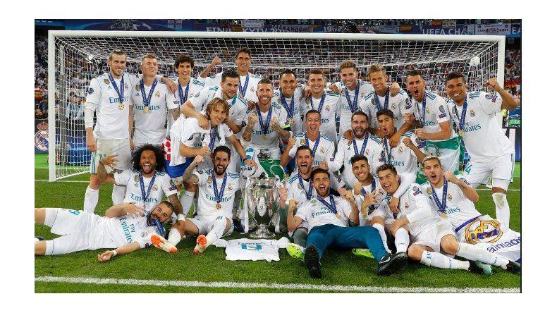 Real Madrid abrochó la tercera Liga de Campeones consecutiva en la era del técnico francés Zinedine Zidane.