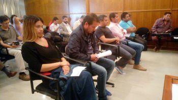 Doce acusados afrontan el primer juicio oral por corrupción en Chubut