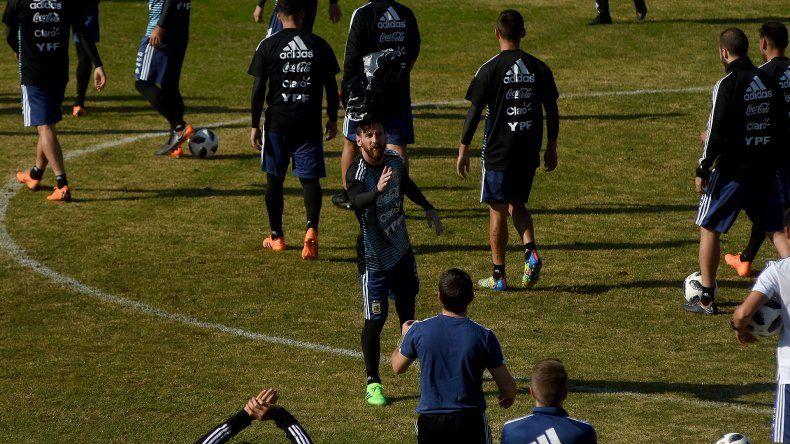 El probable once de Argentina para enfrentar a Haití