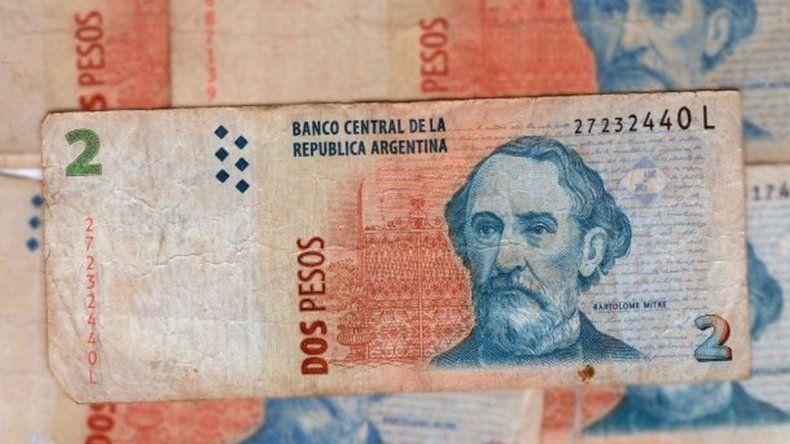 ¿Cuándo vence el plazo para canjear los billetes de dos pesos?