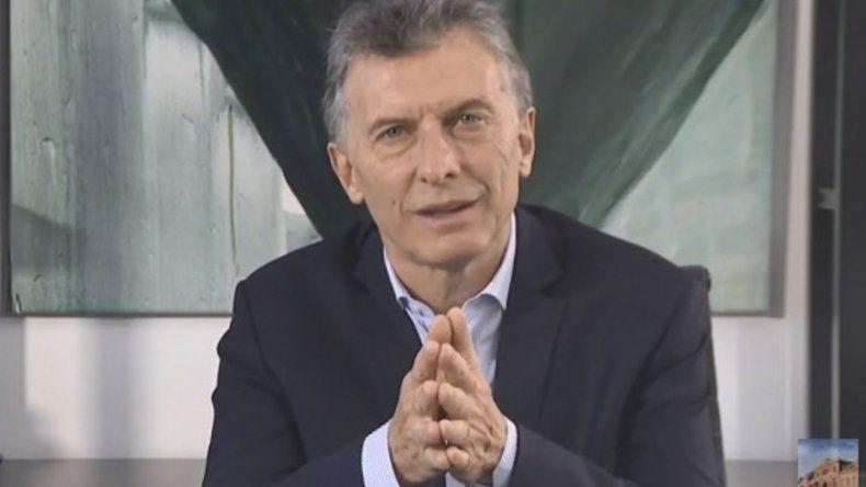 Macri hizo un último llamado al Senado para que no apruebe el anti-tarifazo