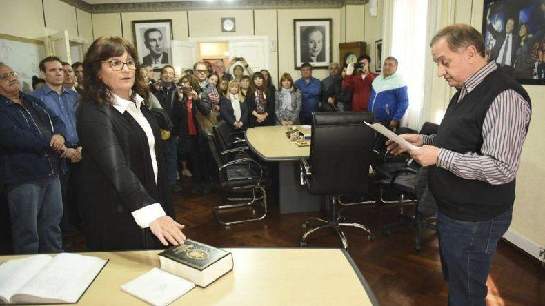 Liliana Peralta asumió en la Secretaría Privada