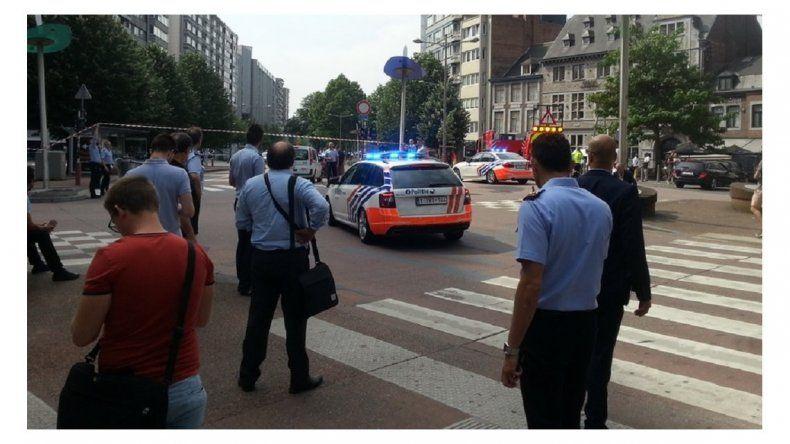 Tensión en Lieja, Bélgica: un hombre gritó Alá es grande y mató a tres personas