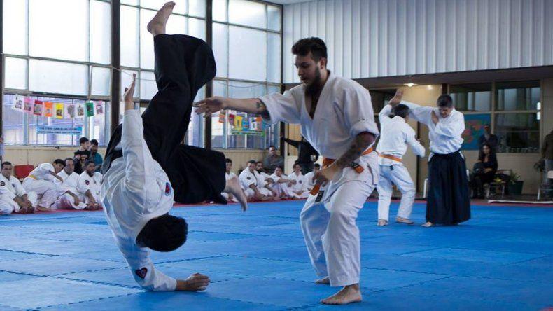 Se realizó un seminario nacional de Aikido