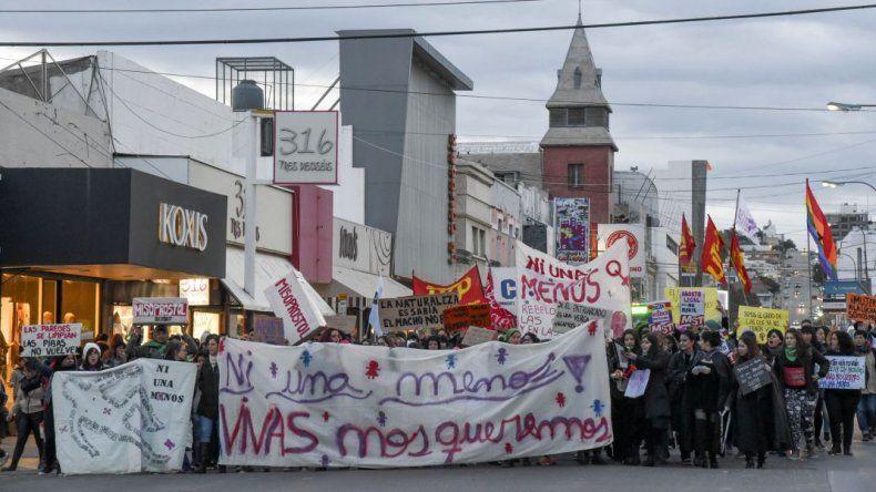 En Comodoro la marcha por Ni Una Menos será el 4 de junio