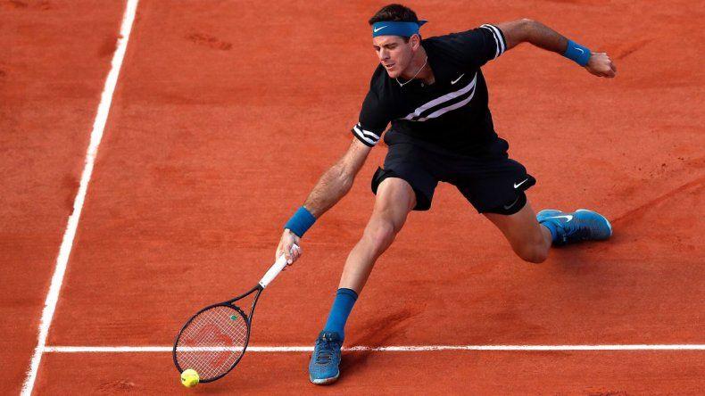 Del Potro ganó en el debut en Roland Garros