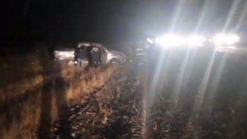 Un muerto tras volcar una camioneta en Ruta 25