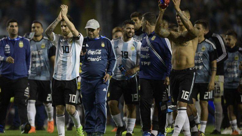 Argentina venció 4 a 0 a Haití y viaja con sueño mundialista