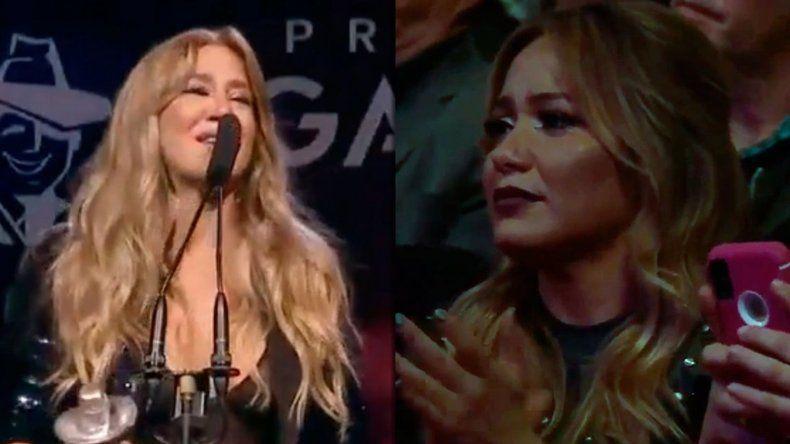 El discurso de Jimena Barón que hizo llorar a Karina
