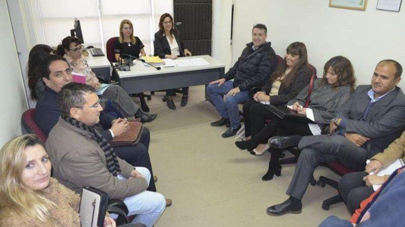 La audiencia que el lunes presidió la jueza María Marta Nieto en la que reunió a funcionarios provinciales y referentes de la ATECh.