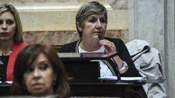 Nancy González, una de las senadoras que representa a Chubut.