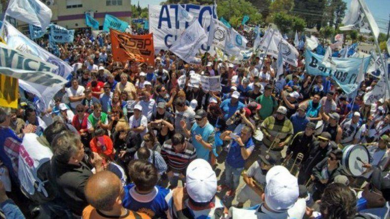 La Mesa de Unidad Sindical presenta una contrapropuesta
