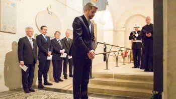 Marcos Peña homenajeó a los soldados ingleses caídos en Malvinas
