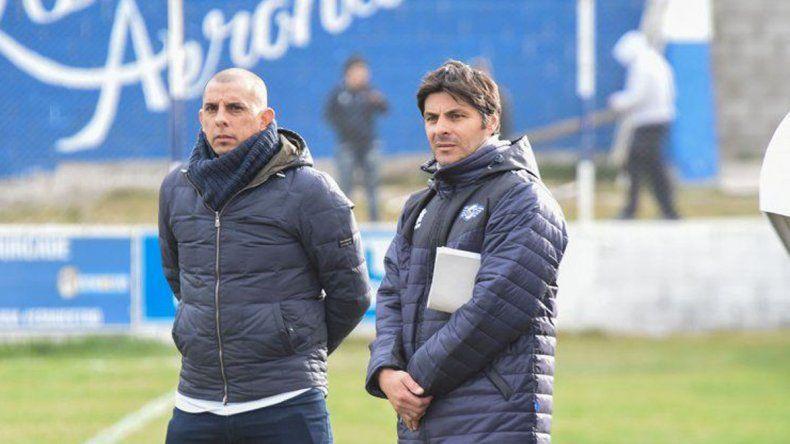 Hugo Barrientos y Eduardo Castro